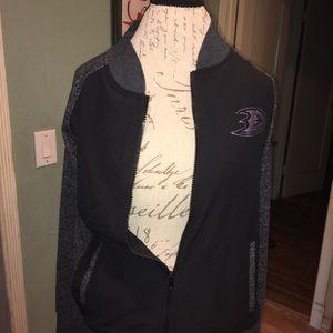 NHL DUCKS zipped up jacket